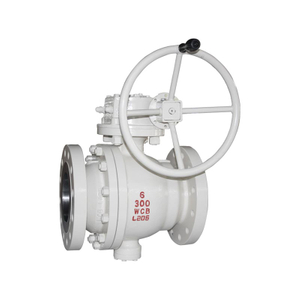 Trunnion Ball Valve API Flange 2 Piece