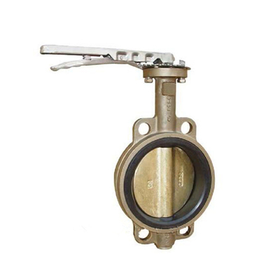 Wafer Butterfly Valve 150LB Aluminium Bronze Without Pin