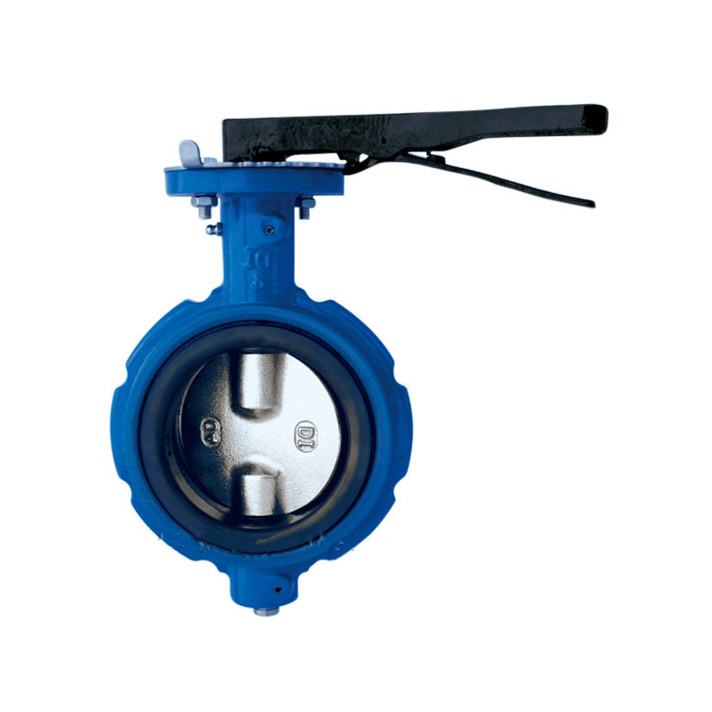 Wafer Butterfly Valve Cast Iron 150LB Notched Type