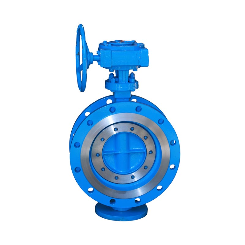 Wcb Double Flange Triple Eccentric Butterfly Valve