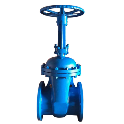 Industrial Gate Valve Din Rising Stem Cast Steel
