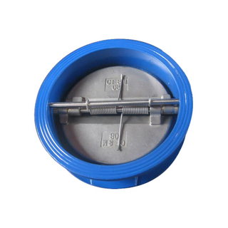 Wafer Check Valve Double Disc Cast Iron 150LB