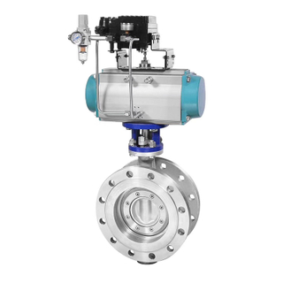 Stainless Steel Triple Offset Flange Butterfly Valve