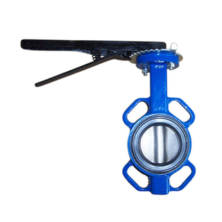 Wafer Butterfly Valve Without Cast Iron Non Backed