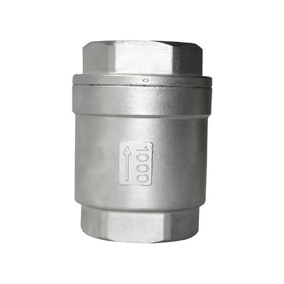 Thread Check Valve Vertical Stainless Steel CF8
