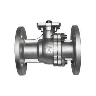 Flange Stainless Steel SS304 Float PN16 Ball Valve