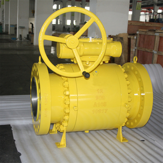 Trunnion Ball Valve API 6D 900LB A105
